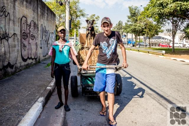 moradores de rua e seus cães 5
